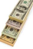 De nombreux billets d'un dollar — Photo