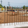 Steel mesh at construction site — Stock Photo #38337061
