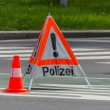 Police use. roadblock — Stock Photo #38342869