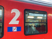Passenger train of the öbb — Stock Photo