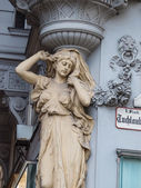 Nice old house in vienna — Stock Photo