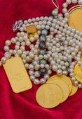 Oro y joyas — Foto de Stock