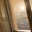 Venetian blinds for shade at the window — Stock Photo #38797683