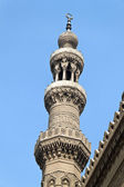 Cairo, the minaret of the ar-rifai mosque — Stock Photo
