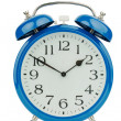 Alarm clock on white background — Stock Photo