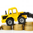 Rising costs in construction industry — Stock Photo #39269779