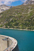 Austria, carinthia, malta reservoir — Stock Photo