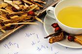 Té para la medicina tradicional China — Foto de Stock