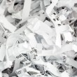 Shredded paper close up — Stock Photo #39656907