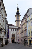 Cidade velha de linz, Áustria — Fotografia Stock