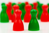 красно зеленый коалиционное правительство — Стоковое фото