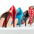 Stock Photo: High-heeled shoes