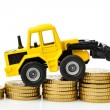 Stock Photo: Rising costs in construction industry