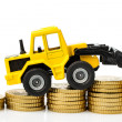 Rising costs in construction industry — Stock Photo #40583287
