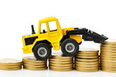 Rising costs in the construction industry — Stock Photo