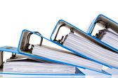 Dateiordner mit dokumenten und unterlagen — Stockfoto