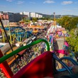 Stock Photo: Urfahraner fair in linz, austria