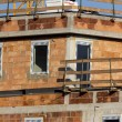 Stock Photo: Construction of residential building