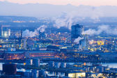 Austria, linz, industrial area — Stock Photo