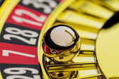 Roulette gambling in the casino — Stock Photo