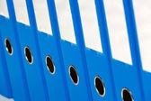 Bestandsmap met documenten en documenten — Stockfoto