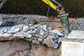 Private construction site — Stock Photo