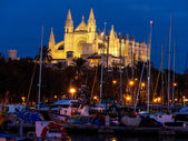 Spain, mallorca, palma, cathedral — Stock Photo
