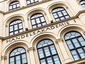 Vienna, academy of commerce — Stock Photo