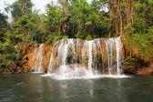 Thailand, waterfall on Kwai river — Stock Photo