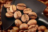 Coffee roasting — Stock Photo