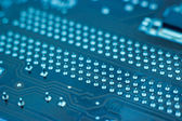 Computer printed circuit board — Stock Photo