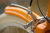 Передняя часть велосипедов — Стоковое фото