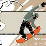 Snowboard — Stock Vector #37005685