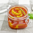 Lecho with pepper - Stockfoto