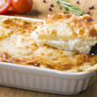 Stock Photo: Potato casserole with cheese