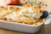 Potato casserole with cheese — Stock Photo