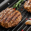 Burger grill pan — Stock Photo #44940307