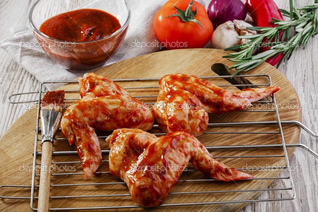 Крылышки барбекю в духовке рецепт с фото