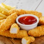 Chicken stripsy — Stok fotoğraf #45366887