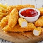 Chicken stripsy — Stock Photo #45366895