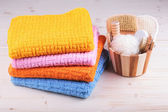 Colorful towels — Stock fotografie