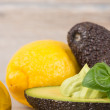 Ripe avocado - Stock Photo
