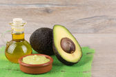 Ripe avocado — Stock Photo