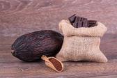 Cocoa fruit — Stock Photo