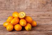 Kumquat freschi — Foto Stock
