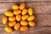 Fresh kumquats — Stock Photo