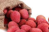 Fresh lychee — Stock Photo