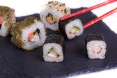Sush y roll — Foto de Stock