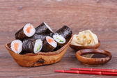Sushi and Roll — Stock Photo