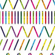 Pen repetition — Imagen vectorial